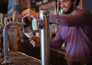 bar, restaurant, beer tap, bartender, antelope valley